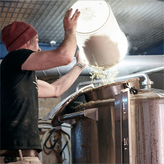 a behind the scenes look at creating the beer at Brick Brewery