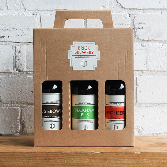 A box of Beers from Brick Brewery, perfect for a gift Thumbnail
