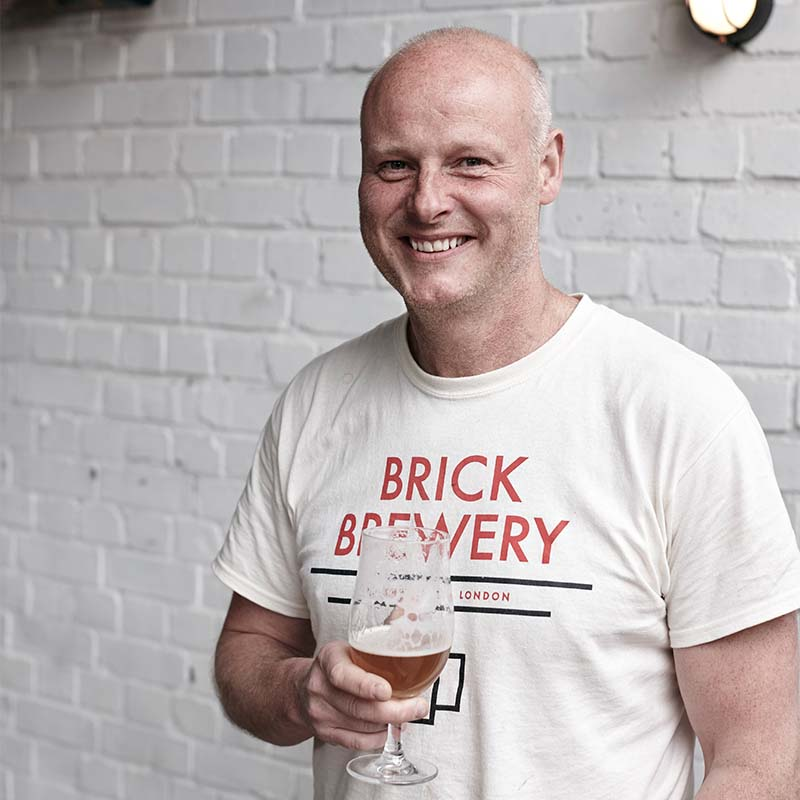 Ian Stewart, Brick Brewery's Owner and Managing Director
