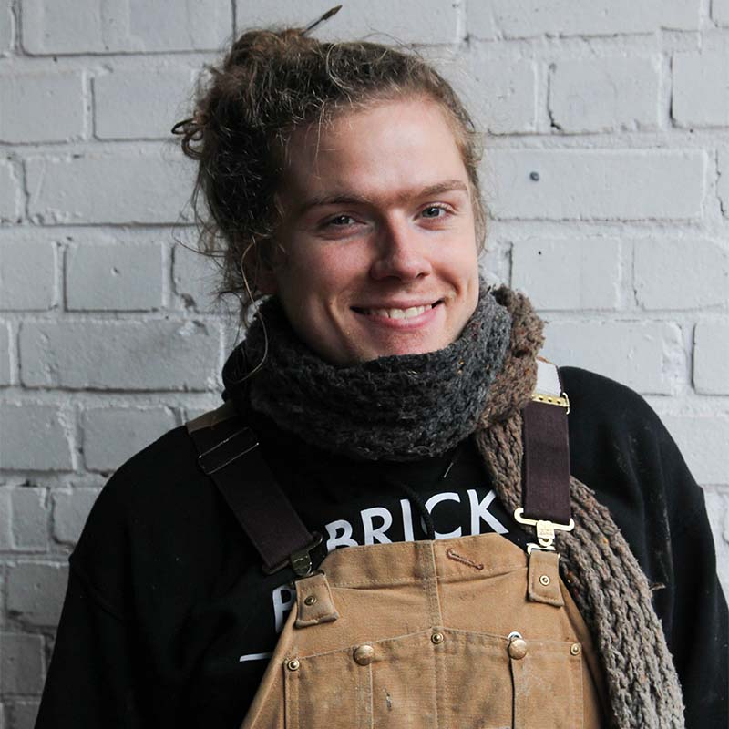 James Wilson, Brick Brewery's assistant brewer