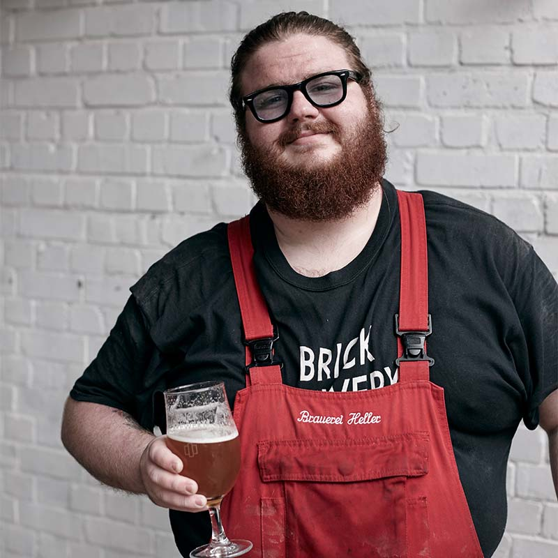 Leo Honsheid, Brick Brewery's Lead Brewer
