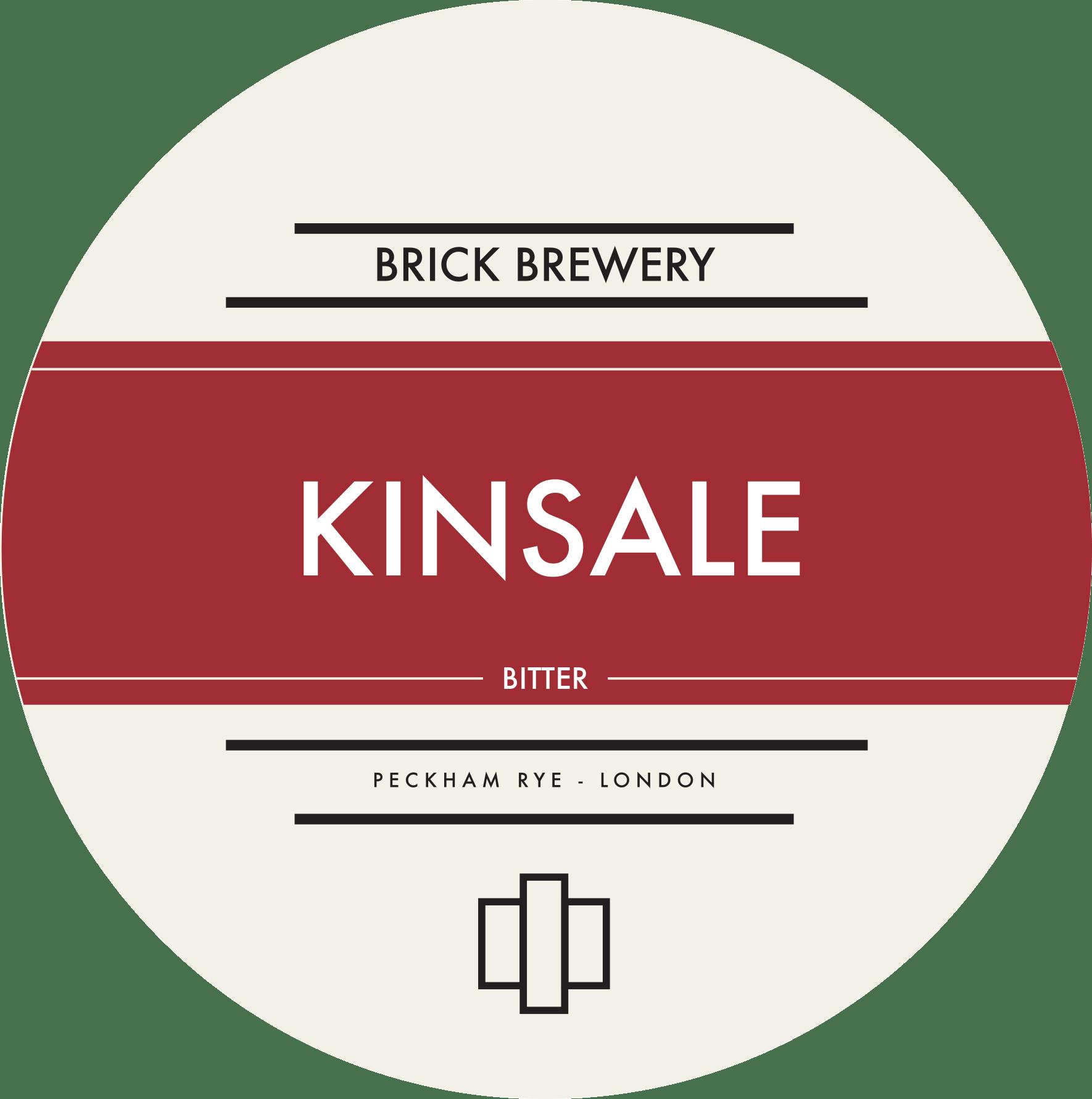 Brick Brewery's Kinsale Best Bitter Logo