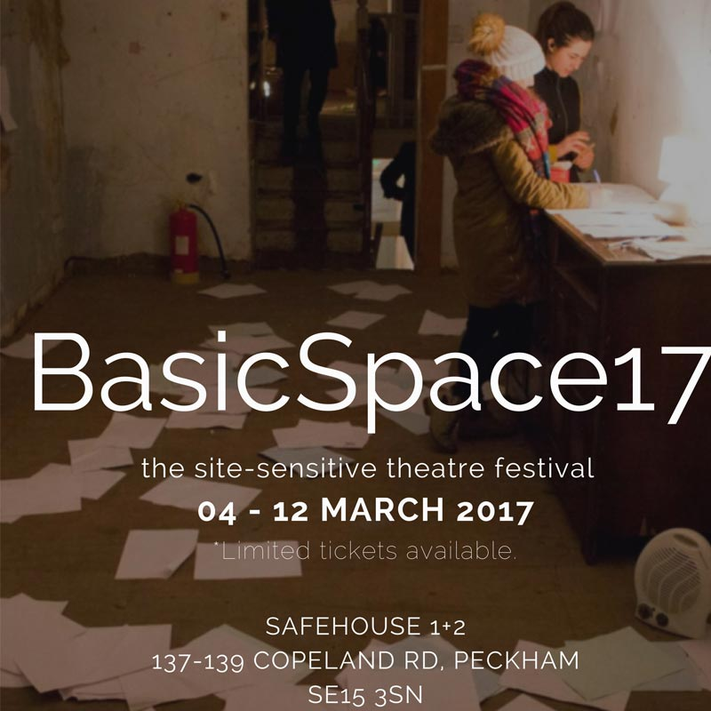 basic space 2017 theatre festival flyer thumbnail