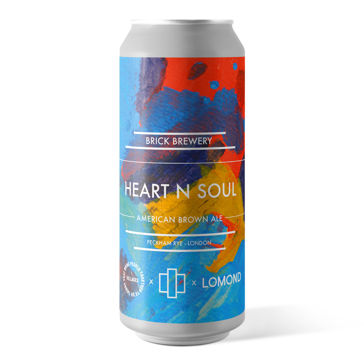 Heart N Soul 440ml Can from Brick Brewery's Collaboration Range